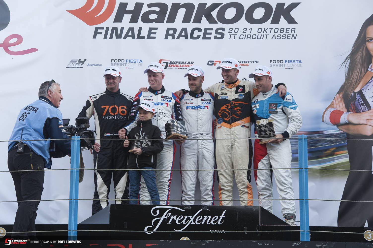 Kampioen in Supercar Challenge GT Division